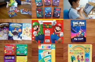 7月書團 瑪力歐遊戲書單, 各年齡讀本,Evan-Moor分級教材, 硬頁書