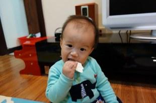 同大爺的手指食物-稻鴨米餅與和光堂嬰兒餅乾