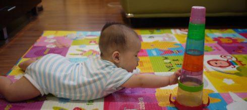 [兒物]同大爺的新玩具-日本People 知育系列~杯子疊疊樂