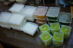 同大爺的副食品食譜(7m27d)-山藥泥+蘋果山藥泥+1:1稀釋蘋果汁