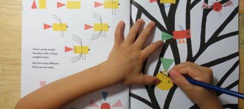 從無到有・自由創造●Sticker Shape Create●「零」框架的形狀貼紙書