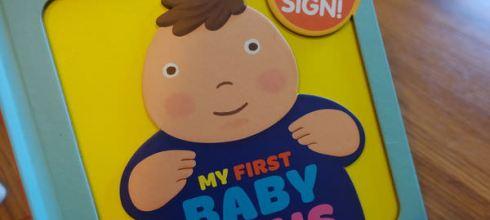 新手父母必備操作書●My First Baby Signs●8個必學的寶寶手語