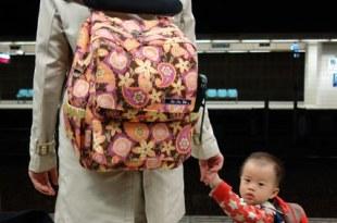 ●Ju-Ju-Be Packabe●適合親子出遊的後背媽媽包