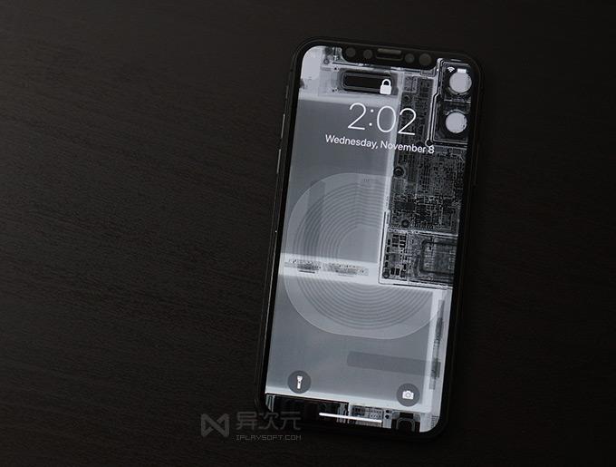 X Ray Wallpaper Iphone 全套 Iphone 透明外壳透视壁纸下载 免拆解轻松改装全透明手机 异次元软件世界