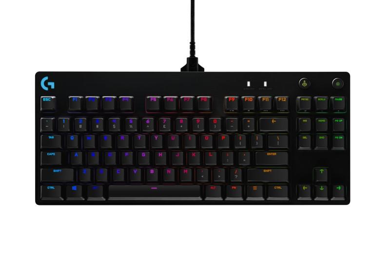 熱插拔機械軸鍵盤,羅技Logitech PRO X 在台上市,售價新台幣4,690元