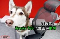 iRocks T05 人體工學網椅評測!就是要透氣,還有T05 PLUS、T06可以挑選