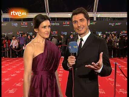 """Ver vídeo  'Ángeles González-Sinde: Álex y yo somos compañeros y es una celebración para estar felices""""'"""
