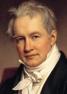Alexander von Humboldt, geógrafo, naturalista y explorador alemán