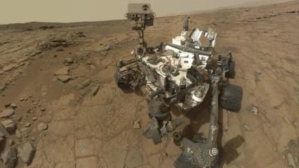 El Curiosity cumple un año en Marte