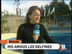 Ver vídeo  'España Directo - Entrevista a los delfines'