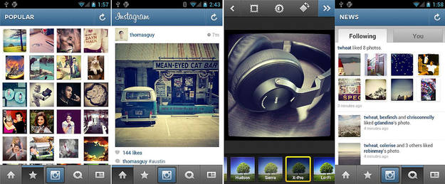 Instagram ya está disponible para Android casi un año y medio después de su lanzamiento para dispositivos iOS