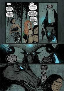 Página de 'Las brujas de Westwood'