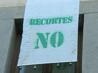 Ver vídeo  'Sexta jornada de huelga en la enseñanza pública madrileña'