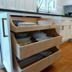 Slide Out Organizers Kitchen Cabinets Commercial For Sale Pull-out Drawers. Underneath You Can Open Up The ...