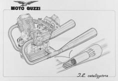 Getting prepared to ride our #MotoGuzzi V7 Limited. #