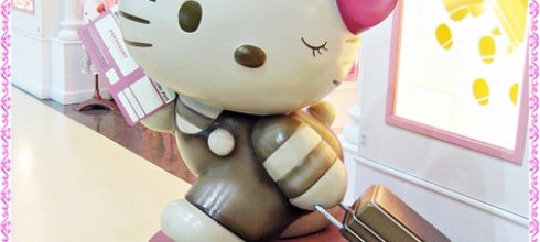 Hello Kitty Jet 彩繪機,韓國首爾首航