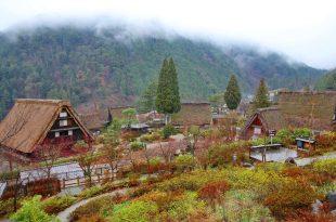 ♫日本昇龍道自由行_岐阜縣,下呂溫泉景點,合掌村的下午茶