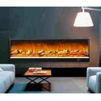 Restaurant Decor Wall Fireplace Heater With Remote , Fake ...
