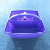 Durable Plastic Shower Caddy Bath Caddy w/ Handles