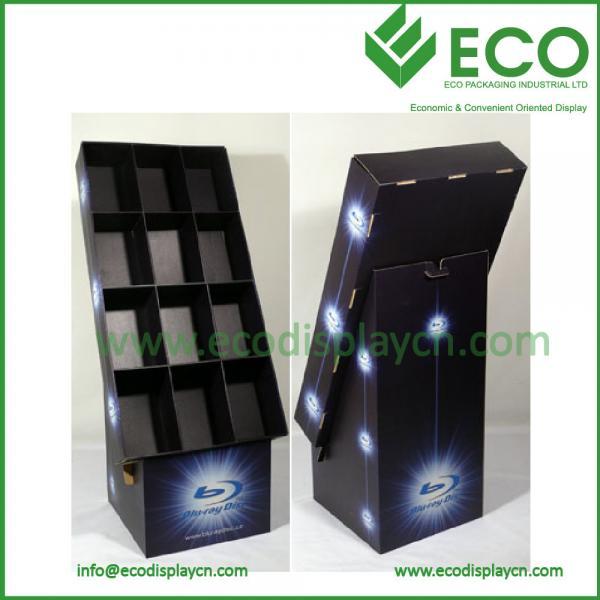 Cardboard Greeting Card Display Rack