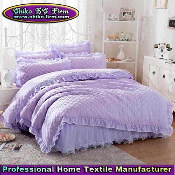 Cheap Winter Twin Full Queen King Size Quilt Bedding Bed Skirt Sets  104354878