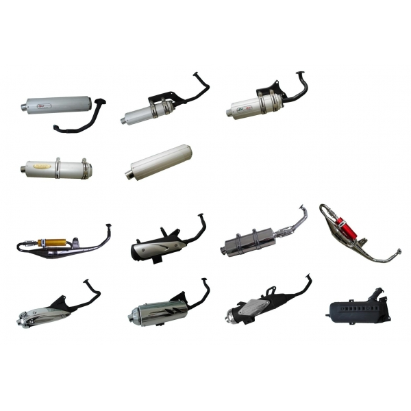 Scooter Spare Parts Scooter Muffler