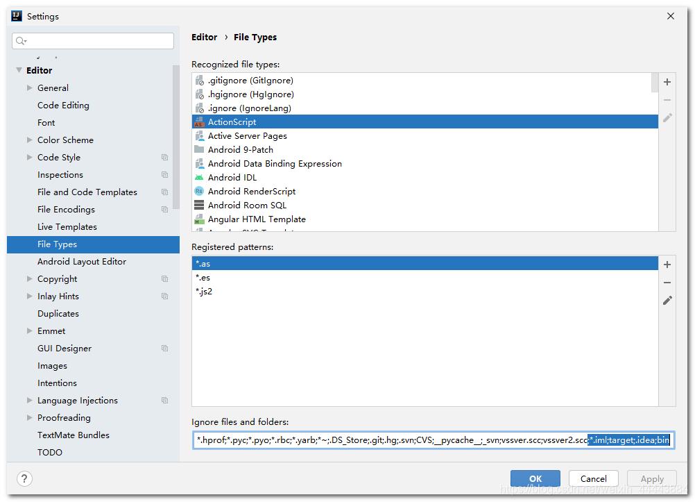 idea 隱藏target.iml等不需要展示的檔案(推薦) - IT145.com