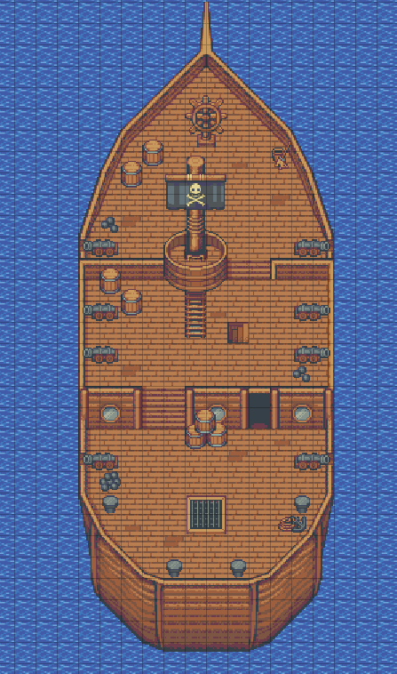 Ship RPG Tileset by finalbossblues