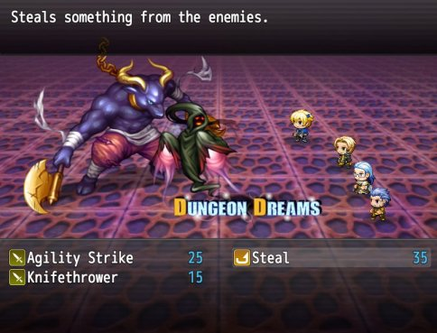 Dungeon Dreams gameplay