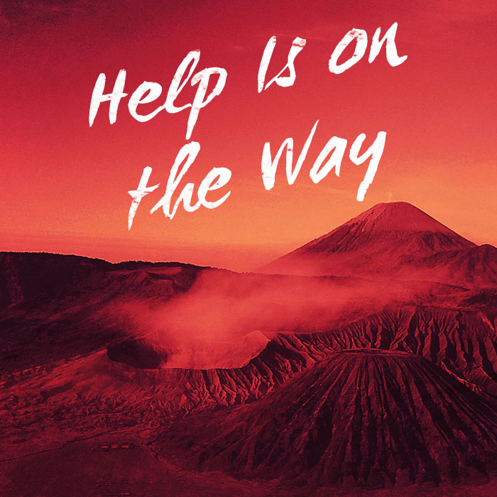 Help Is On The Way by Vic Vieira