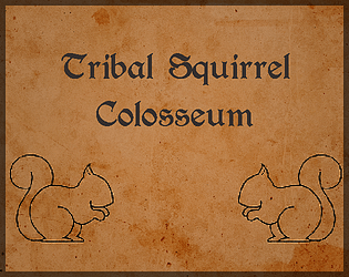tribal squirrel colosseum by