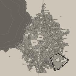 0 4 0: Coastal cities Medieval Fantasy City Generator by watabou
