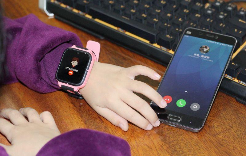 小米兒童手錶T1釋出。續航6天。GPS+WiFi+北斗+EPO+基站7重定位 - ITW01