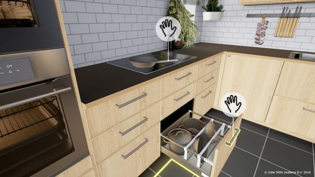 kitchens remodeling kitchen interior design 釘科技編譯 宜家正將vr與廚房設計相結合 itw01 通過一款htc vive的虛擬現實遊戲 宜家正在重塑顧客的廚房 釘 重塑你妹 就是通過vr來進行體驗好不好 怪我翻譯的有問題嘍