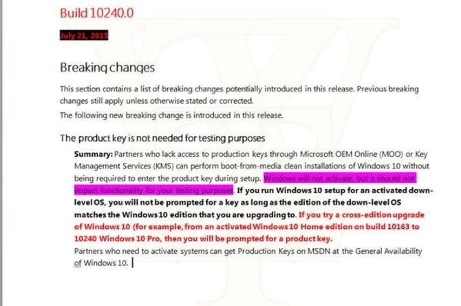 你可以不用金鑰免費體驗測試Windows 10 - ITW01