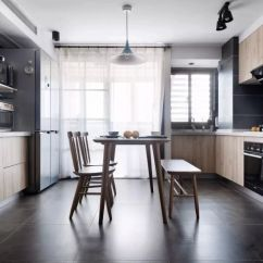 Qvc.com Shopping Kitchen Wall Mounted Cabinets 100 質感有格調的北歐風loft 樓梯下的空間利用到了極致 Itw01 環繞式的廚房充分利用了室內空間 又令整個廚房顯得更加通透開闊 原木的色調與牆體的深色調彰顯出清新淡雅的簡約風格