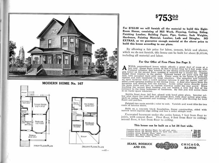 """Sears """"Home Kits"""" Are Still Standing Strong In The US"""