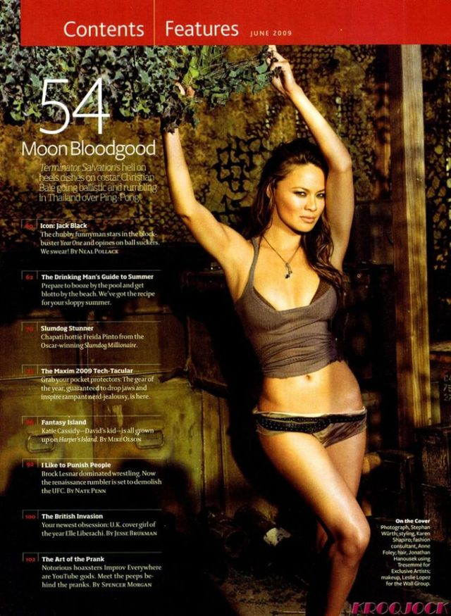 Moon Bloodgood from the new Terminator movie 6 pics