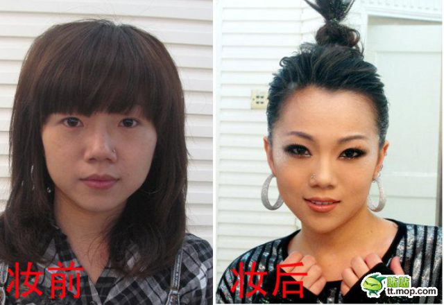 Chinese Celebrities: No Make-Up (10 pics)