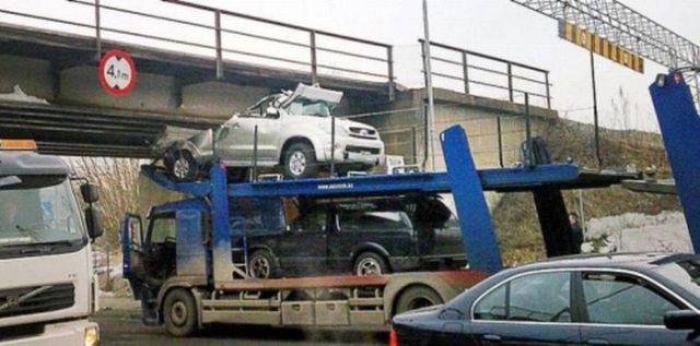 weird car crashes 34