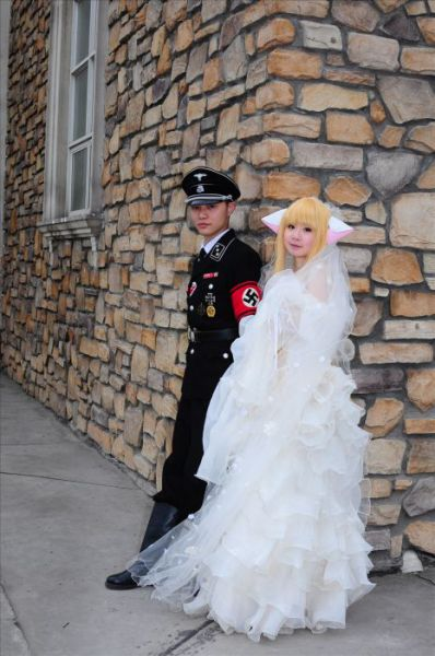Asian Nazi Wedding 15 pics  Izismilecom