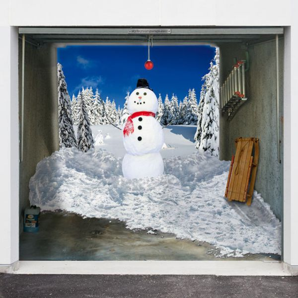 Garage Door 3d Designs For Christmas 10 Pics Picture