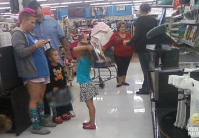 Walmart Customer Photos Funny