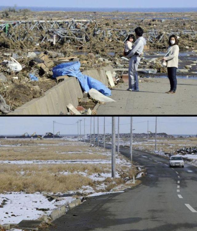 Japan Reconstructed After Tsunami