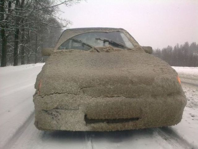 Really Dirty Cars From Russia 12 Pics Izismile Com