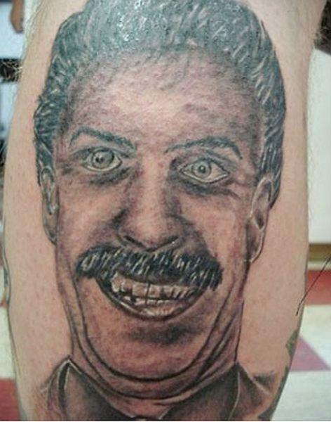 horrible portrait tattoos 38 pics