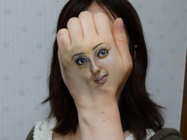 Strange Optical Illusion Body Art