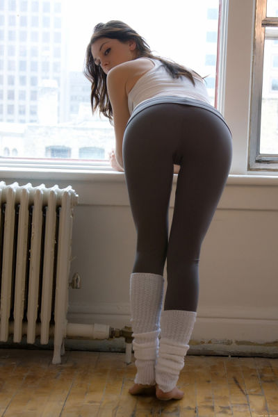 Sultry Magic of Yoga Pants