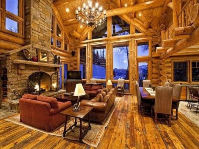 Magnificent Log Houses (36 Pics)