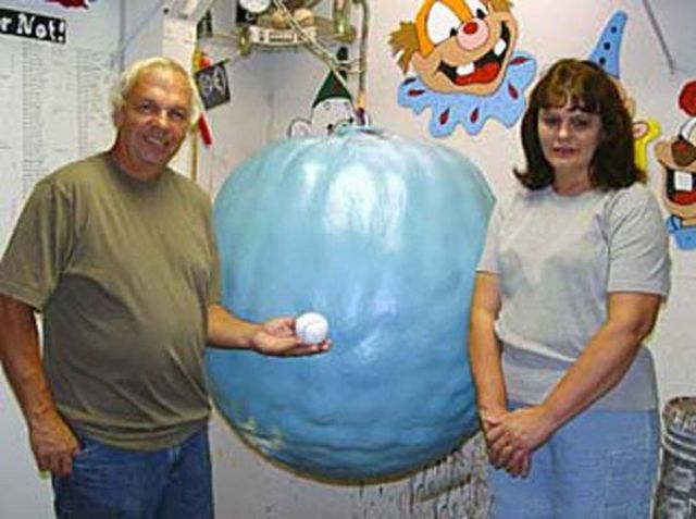 Supersized Ball of Paint